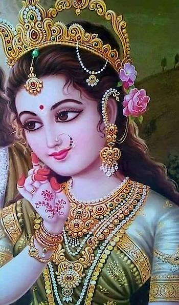 मेरे💟🍀#श्याम  से   #मिलने  की🌷🍀#ख्वाहिश #जिसने  भी  की   #उसकी  हर  #मुराद 🌺#राधे #रानी   ने  #कबूल 💟🐾की #Radhe #Radhe 🌺 #Gud #morng #All 🌾