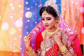 🔥❤bridal shoot❤🔥 makeup artist: Ankita photographer: Subir  . . . #lovemywork #bridalshoot #worktime #lovemyjob #makeup #jewelry #love