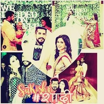 #sukishkishaadi  Love u both @kishwermerchantt @suyyashrai  Have fanastic married life