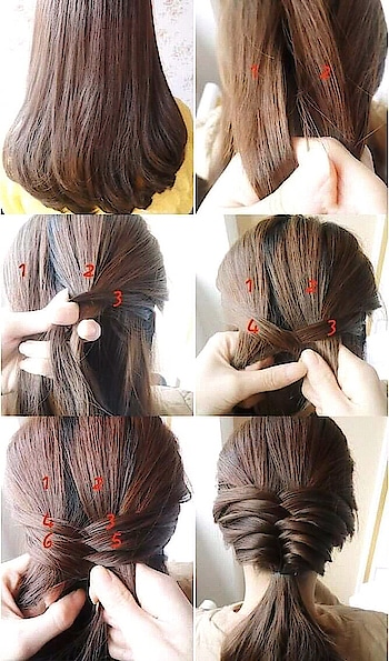 #hairstyleideas #braidedhairstyle #stepbystephairstyle #easyandquick #hairstylegoals #beautyhacks #hair love❤ #trendyhairstyles #summer-looks #something different😎 #hairstlyeforshorthair #popxo #soroposo #goeasy_gocomfy_gostylish #flauntyourpersonality #beboldbebeautiful #keeploving #goodnite guys keep following keep likes and comment my posts