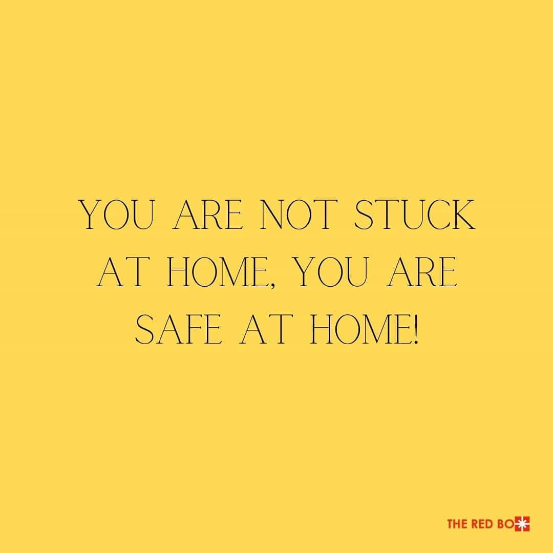 Stay Home, Stay Safe! 🏠 #weareallinthistogether . . . . . #theredbox #Staysafe #Coronavirus #weareinthistogether #pray #covid19 #stayhome #socialdistancing #positivevibes