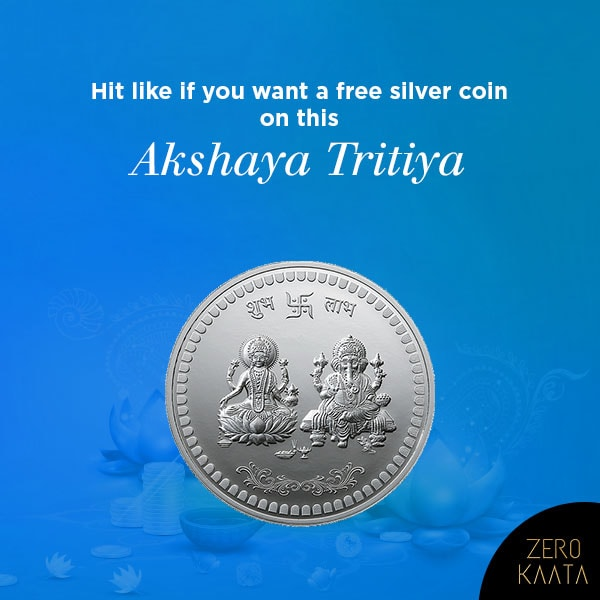 Celebrate this Akshaya Tritiya with ZeroKaata  Shop for Rs 999 & above and get a silver coin FREE with every purchase  Shop at www.zerokaata.com Offer valid till 7th May only!  #akshayatritiya #silvercoins #silvercoin #freesilvercoin #jewelrydesign #jadaujewelry #jewellry #oxidizedjewellery #imitationjewellery #templejewellery #highjewelry #jewelryinspiration #jewelrytrends #jewelrylover #jewelrymaker #jewelrygram #traditionaljewellery #meenakariearrings #traditionalearrings #handmadejwelery #handmadejewelryofinstagram #handmadejewely #handmadejewerlly #handmadejwellery #designerearings #designerearring #onlinejewelleryshopping #onlinejewelryshop