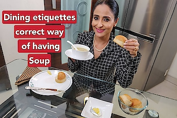 Dining etiquettes, dobwe eat soup or drink soup? #watchnow https://youtu.be/djrOXaa3a00