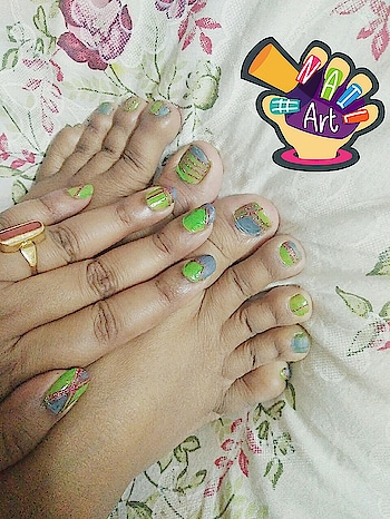 #greennails #nails2inspire #nail-addict #nail-designs #nailartaddicts #nailideas ..#nailsoftheday .. #nailart