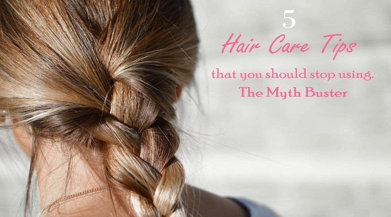 5 Hair Care Tips that you should stop trying from now | Myth Buster by Designer Wings  #hair #hair-do #haircaretips #mythbusters #myth #hairfall #haircareroutine #haircare #haircut #dye #haircolour #shampoo #shampooandconditioner  #designerwings
