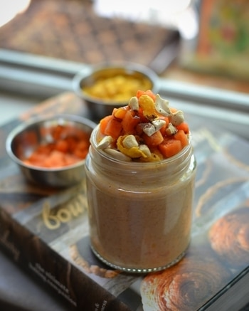 Magic with leftover food . When I opened my refrigerator this morning there was a bowl of Papaya which was leftover. So thought why not utilize it and create something interesting, here it is what I finally managed to blend together and create this beautiful Papaya, Nescafe and cornflakes shake. This shake is healthy and has only natural sugars present in Papaya . For recipe click on the link in bio . It's my first YouTube video for recipe on leftover food . Share views and don't forget to subscribe, follow and like . #magicwithleftoverfood #chefmrugziee #foodporn #like4like #picoftheday #nikon #nikonphotography #dishoftheday #foodgasm #mumbaifoodie #dailyfoodfeed #rashmifoodiepicks #freshfood #nomnom #delicious  #heymumbai #mumbaifood #tastingtable #mumbaifoodie #foodphotography #streetsofmumbai #foodblog #foodbloggers #trellfood #dessert #baked #dessertporn #papaya #freakshake #healthy