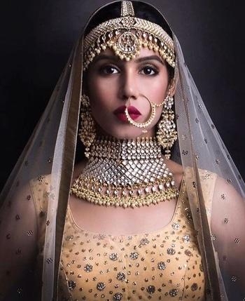 #bridal portrait....... Post after a long time.......