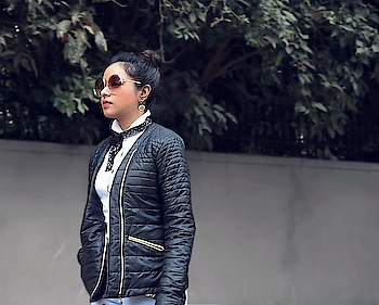 With summer almost taking over winters already (at least in Bangalore) my take on puffy jackets is coming up soon on the blog. Let's make the most of it till the cold season lasts. ❄️❄️❄️ . . . . . . #winterclothes #pufferjacket #puffyjacket #winterfashion #urbanstreetwear #fashiondaily #quirkystyle #streetstyleblogger #streetstyleindia #createcommune #fashionblogger #bangalorefashionbloggers#roposostyle #ropo-love #ropo-style #roposoblogger  #indianfashionblog #oversizedglasses