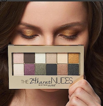 #The #24k #Nudes #palette
