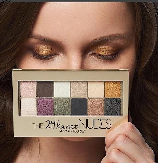 #The #24k #Nudes #palette