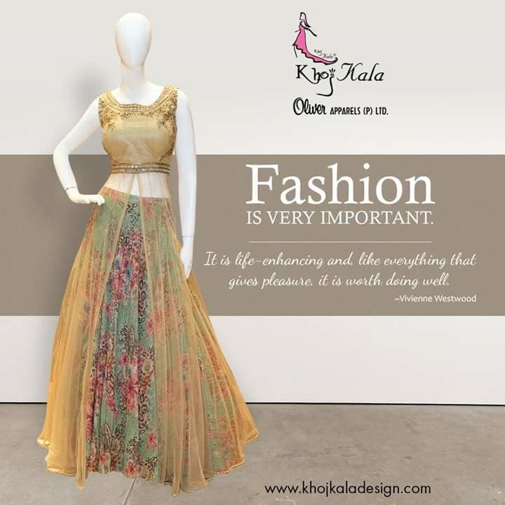 The Modern woman demands something that is timeless yet stylish.  #KhojKala #occasionwear #designer #newdelhi #stylishwear #indiancouture #indianfashionblogger #fashionwear #celebstyle #vogue #runway #summercolours #embroideries www.khojkaladesign.com