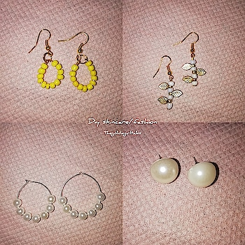 4 simple earring that you can make at home.Even you can do it as your part time business and can sell them in online... Link in bio. Do check it out..video in tamil.  Sorry guys for not being active.. Held up with my colg works.  #chennaiblogger #thegoldiegirltales  #photography #trichyblogger #instablogger #roposoblogger #art #crafts #accessorries #jewelry #DIY #earrings #artandcrafts #crafting
