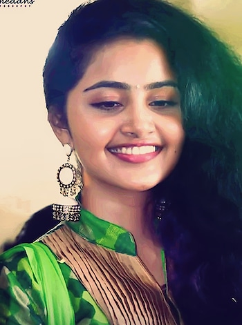 #anupama #anupamaparameshwaran #cute #curlyhair #curlygirly #curls #curlshairstyle #traditional #chudidar