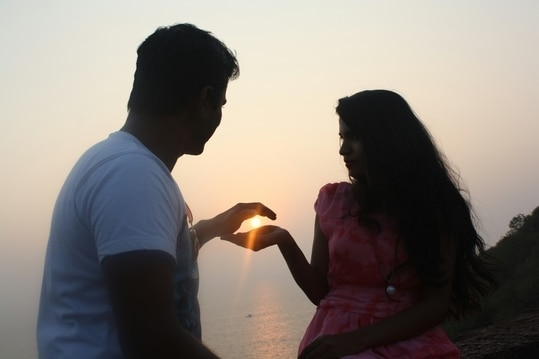 sun set wid loveeeeeee at aguada fort goaaaA