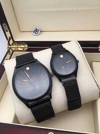 Beautiful couple watch. 1599/-   #watch  #watches  #timepiece  #wristwatch  #beautiful  #horology  #watchporn  #watchoftheday  #watchgeek #classy #pretty #trendalert  #royal #winterfashion  #online #classic #style #casual #winterwear #fashion #stylishwear #fashiongram #trend #gym #gymlover #beardeddragon #beard #indianwedding