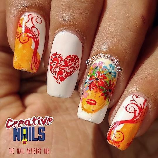 Women's Day Nail Art! https://creativenails.in/2018/03/07/happy-international-womens-day-2018-nail-art/ #creativenails #creativenails_beautyprooducts #roposogal #roposo-style #roposofashionblogger #nailart #womensdaynailart #happywomensday