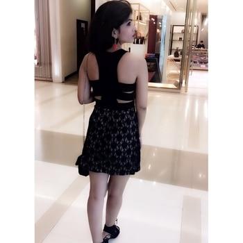 #fashion #bloggerlife #roposoblogger #lbd #stylistdiaries