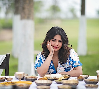 Priyanka Chopra enjoying the authentic dishes of Assam   #assamtourismambassador  #happytummy #priyankachopra #assambound