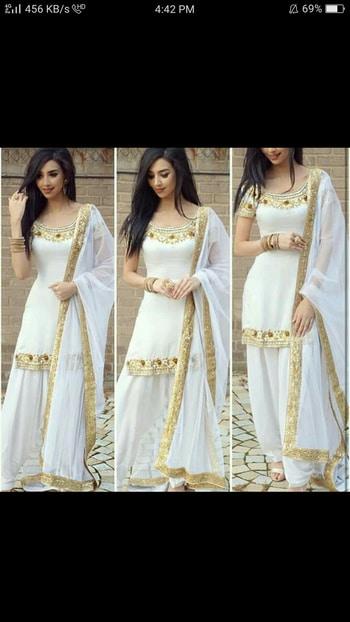 #beautiful#patiala#white