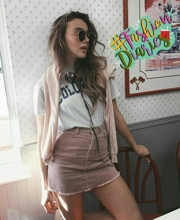 #soroposodaily #saturdayfashion 😎 #skirtlove 💕 #skirtstyle  #top-skirt #skirtfashion #browngirl #brown skirt 🎆 #fashion-diva #be-fashionable #fashion #gorgeous #girlswear #girlsbelike 😻 #brown_love 💜 #greylove #greytop #black_lover #blackglam #blackglasses ✌✌ #summer-style #styleblogger #summerstartsnow 💛 #street-style #shortskirt #skirtlove 💓 #summersurprise #summerdiaries #bloggergirl #bloggerdiaries #bloggerbabe👧 #bloggerfashion #bloggerlifestyle👐 #followmeonroposo 💞...  #followformuchmore #moretocome 💋 #ropo-lov 💚.... #fashiondiaries #summers