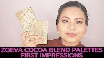 First Impressions on Zoeva Cocoa Blend Kit is now up!  Check it out, link is in the bio⬆️   #youtuber #beautyblogger #indianyoutuber #beautyvlogger #singaporebeautyblog #singaporebeautyblogger #clozette #theleiav #indianbeautyblogger #indianblogger #fashionblogger #mummyblogger #newvideoonyoutube #newyoutubevideo #newvideoalert