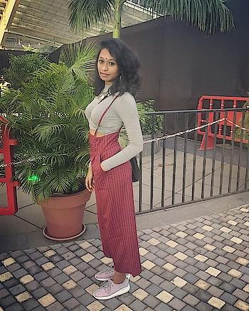 Plixxo blogger with @Ajio  #pliepalazzo #fashionblogger #blogger #fashionbloggerindia #indianfashionblogger #soroposo #roposolove #popxo #fashiondiaries #lookoftheday #outfitoftheday #ootd #fashionquotient