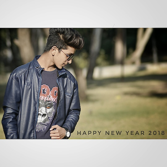 #happy #new #year #2018  #look #hair #hairstyle #photography #model #india  #like #followme
