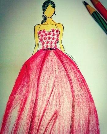 #ffdesignerhunt #fashion #women-fashion #fashionillustrator