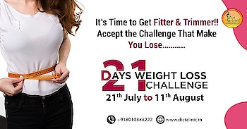 We are back with 21 Days challenge weight loss challenge   R u ready  Losing Weight made easy & swift with our 21 Day Challenge!  Lose 4-5 Kgs in just 21 Days from 21st July to 11th August.  Unbelievable?   We can make it possible.   Call us - 8800997701,8800997703 Visit here:- 224 Gujranwala Town,Part 3 ,North Delhi 110009 Toll-Free- 8010888222   Lots of exciting goodies to be won.  #Dietclinic  #Nutritionist #dietician #dietitan #weightlosschallenge