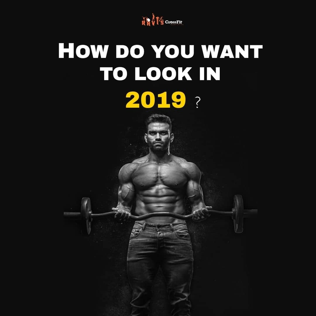 HOW DO YOU WANT TO LOOK IN 2019 ?⠀ ⠀ Does your agenda for 2019 has 🔸Being Fit🔸listed in it ? Well , that's a great New year resolution . Congratulations towards your first step.⠀ Stay Fit, Ravishankar, #raviscrossfit Coimbatore. Modern Outdoor Crossfit GYM🏀🏀⠀ #coimbatore #shoutout #crossfit #gymshark #bodyfitness #raviscrossfit #bodytransformation #homegym #workoutmotivation #avengersinfinitywar #trainhard #beard #sizezero #hiphop  #coimbatorediaries #smed #hashtags4likes #hashtag #royalenfield #bulletjournal #crossfitlife #gymathome #newyear #newyearresolution #christmas #fashionnova #newyeariscoming  #2019 #newyearseve