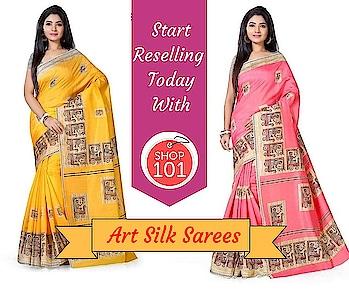 Download: http://bit.ly/2D12b3g  #silksaree #saree #silksareeindia #designer-saree #wedding-saree #womensaree #womensilksaree #sellonline #onlinebusiness #business #businessman #businesswoman #reseller #shop101 #workfromhome #thebazaar #fashion