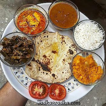 Maa ke haath ka Khana... 👅😍#delicious #hungrytv #ropo-foodie  Visit Tadkaswadka.com for more delicious recipes