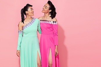 #happycolors this summer with #spotbyNityabajaj  #happiness #colorful #bright #brightandbeautiful #LabelNityaBajaj #SPOT #spotsr19 #colors #pink  Talent @apeksha_verma @tamang.girl  Photography and post production @prashhant_awasthi  HMU @divarose21  Accessories partner @aaree_accessories #SPOT #SpotbyNityaBajaj  Www www.nityabajaj.com