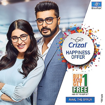 FREE * FREE * FREE * Never Before Offer Rush Now !!!  Book Your Order Today  Buy Any Pair of Crizal Spectacle Lenses & Get Other Pair of Same Prescription Absolutely Free*   Only @ Charun Optic 7, White House Panchvati Circle C.G.Road Ahmedabad +917926422031 +919898335547          #charunoptic #cgroad #crizal #Buy1Get1