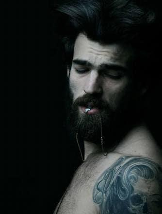 ❤❤❤❤❤#photographs #photoholic #bearded-men #beardlove #beard-model #tattoo #tattoostudio #black-edition #art #followforfashion #trendingfashion ✌✌✌✌