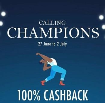 Calling all shopping champions for a chance to win 100 % cash back..(link in bio) offer valid for successful placed orders between 27 June to 2 July and NOt returned 😎 one customer who spends more on my store get 100% cash back for sure...not only that but get flat 15% off on order over 500rs..use code EORS15..(Link in bio ❤️) stop thinking n start shopping... #fashion#blogging#shopping#fashionblogger#product#products#cashback#offer#my#store
