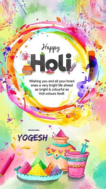 #happyholi #graphicdesign #festivalofcolors