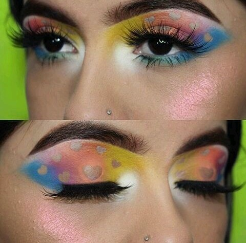 Stole our hearts with this stunning gradient eye look... 💞💞💞 #crueltyfreebeauty #nicework #fab #beautiful 😘😘