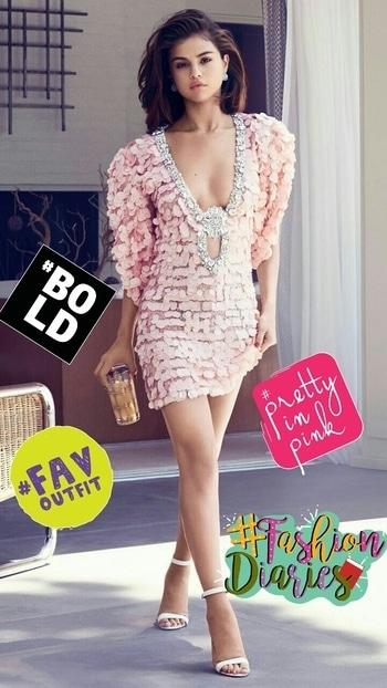 #sel #selenagomez #selenastyle #ootdinspirations #so-ro-po-so #fashionride #fashiondaily #style-file #fab #fashionation #fashionables #selenators #pinklove #favoutfit #prettyinpink #bold #fashiondiaries