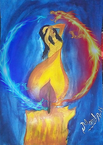 No matter  How Many Times  We burst Into  Flames 🔥  We Can Always  Rise From The  Ashes  Theme:- Flame girl yellow nd orange dress illustration  Hope you all loved my little efforts 😊 😉 HOwz It??🙄🤔 Comment Your reviews❤ 😉 Hope you like it❤ Coment below☟  @arts_secret @artscrowds @iartpost @dailyart @sketch_daily @art_spotlight @art_daily @arts_help @arts.hub @artistic_bros_ @artfido @art.discover @artfeature.s #love_arts_help @artists_worldly @creative.public #artutilities #illustration #fashionillustration #illustrationartists #instaillustration #illustrationgram #beautyillustration #myillustration #wowillustration  #art_dailydose #sketchdailydose #artwhisper #artvertex #blackandwhite  #watercolour_gallery #watercolourpaint #watercolourartist #canvas #canvaspainting #canvasart #instacanvas  #canvasprint  #instagramer  #artistsoninstagram  #like4followers #artist  #artistsoninstagram #instaartist #myartistcommunity #worldofartist #roposoartist #ropodolove #roposouser
