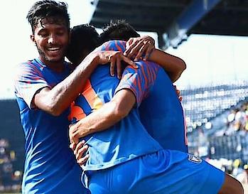 #indiabeatthailand #-india - 1 Thailand -0 #indianfootball  #sunilchettri  #anirudhthapa