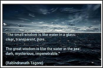 #wisdom #mysterious_sea