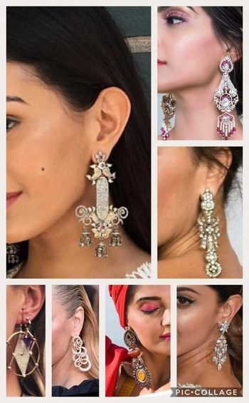 'Size does matter', bigger the better. Voluminous earrings are trendy all over the globe. 💕💕 #glamlook  #chiclook  #roposoindianblogger #fashiondiaries #fashion-diva #fashionstatement #fashionworld #fashion blog #fashionwear #fashion blogger #roposoindia #Delhi blogger #roposo-fashiondiaries #fashion blogger network #trends2017#accessorize love.    #stylealertsbykm
