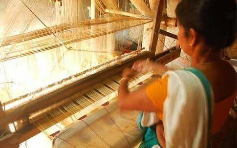The process of creation starts with this! A look at the #WeavingMachine #ClothesInMaking TOCH  https://www.facebook.com/SweetySharmaOfficial/