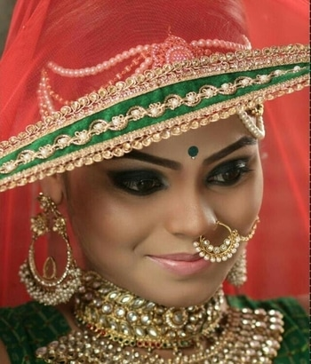 #bridalmakeup #bridalmakeupartist #lehangas #hairstyleing #bridaljewellery