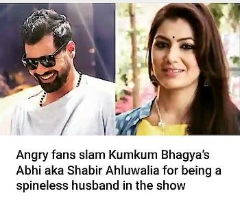 fans slam abhi of #kumkumbhagya #sritijha #ranbirahulwalia #filmistaanchannel
