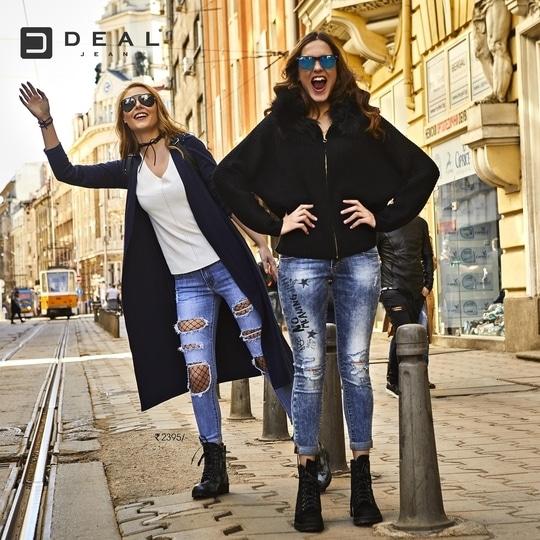 Welcome winter's breeze in trendiest collection by Deal Jeans #DenimLove