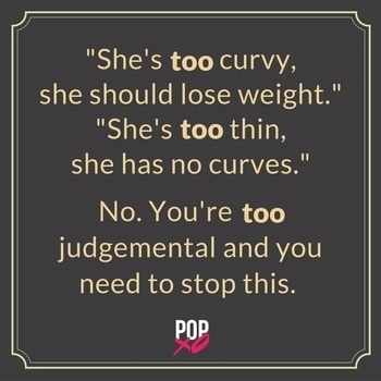 exactly guyzz love yourself  your body don't bother for others reaction