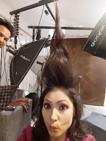 #fashionista #sudhajain #newlook #hair #hairstyle #soroposofashion #output #ropsofashion #brandsudha #shoottime #expo #look sudha Jain  look for state