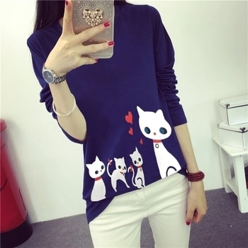 #girly #girlstop #catprint #cats # cats #color #tshirt #classy #trendy #fashionable #fashion #quality # love #delhi #mumbai #chandigarh  *Aalishan New Stuff*  *New stock with new Design*   👚 Cat prints tshirt👚  🎨color  White Blue Grey  Black   👚fabric Cotton polyester mix  📏size M L xl xxl   PRICE 750+free ship  #tshirts